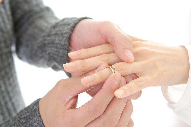 婚約とは婚約指輪