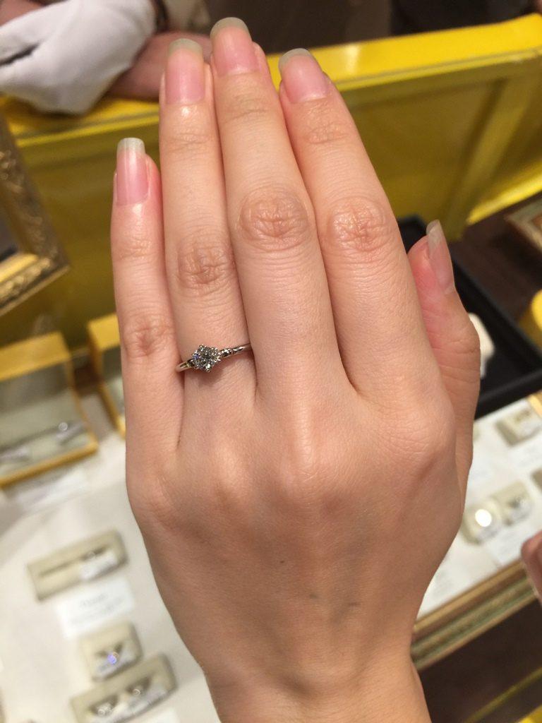ケイウノ_婚約指輪