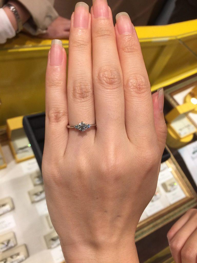 ケイウノ_婚約指輪2