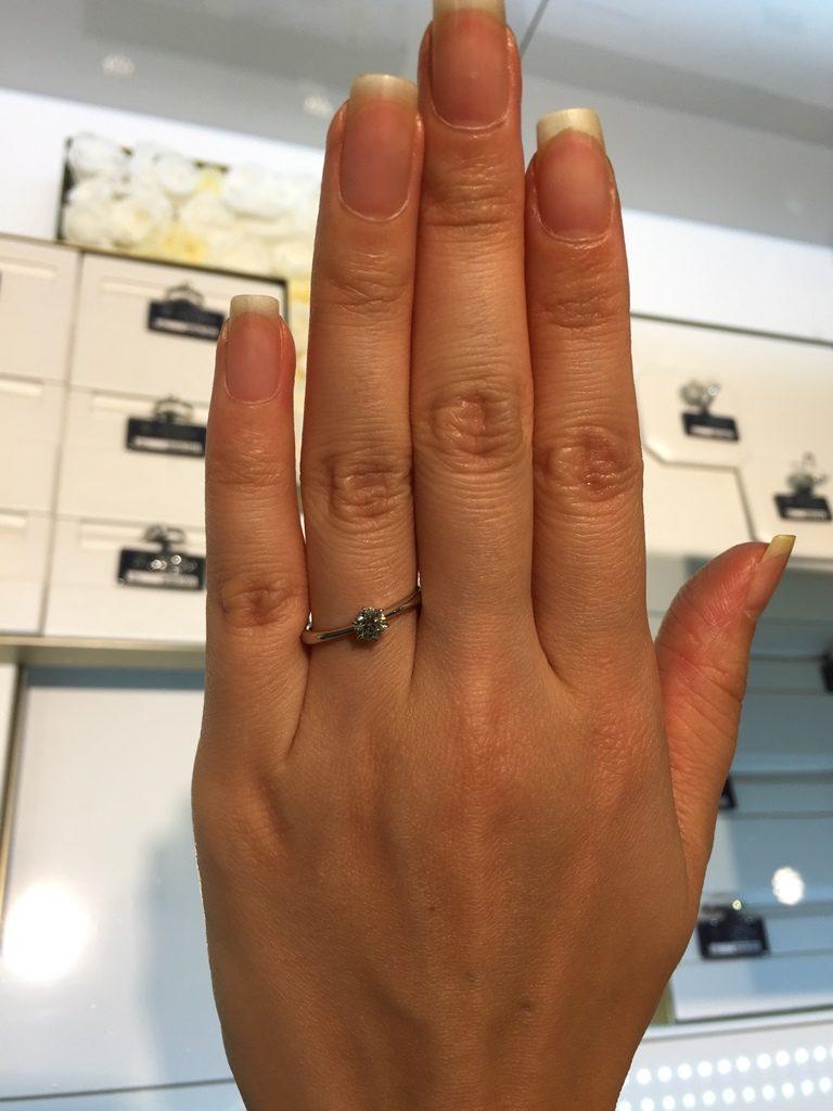 ロイヤルアッシャー_婚約指輪