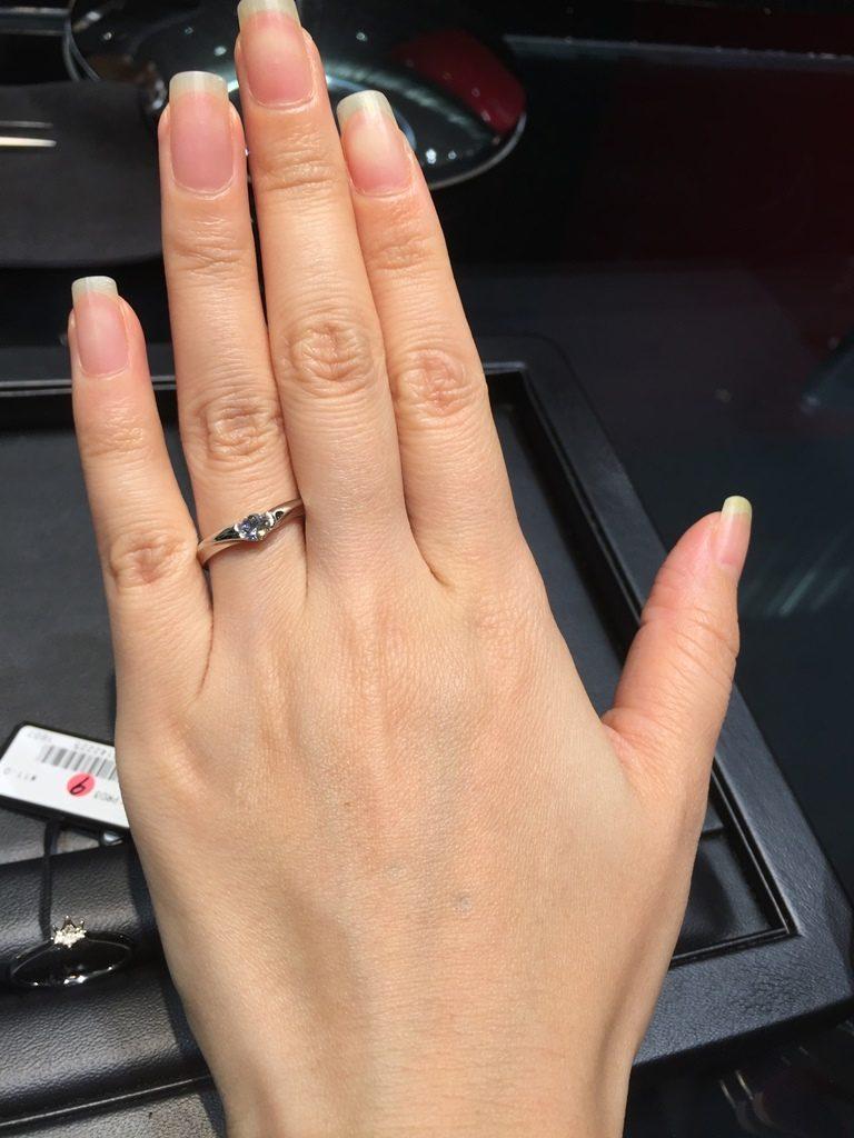 ラザールダイヤモンド_婚約指輪3
