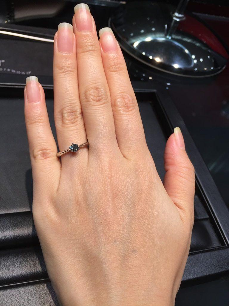 ラザールダイヤモンド_婚約指輪2