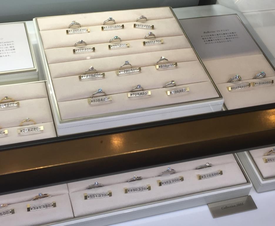 wholesale dealer c3a1d 3b480 Cartier(カルティエ)に婚約指輪と結婚指輪を見に行ってみた ...