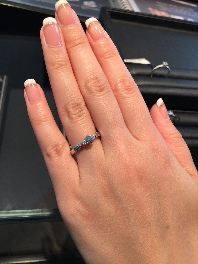 エクセルコダイヤモンド_婚約指輪_エリザベート