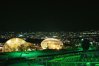 笛吹川フルーツ公園 夜景