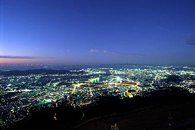 皿倉山 夜景
