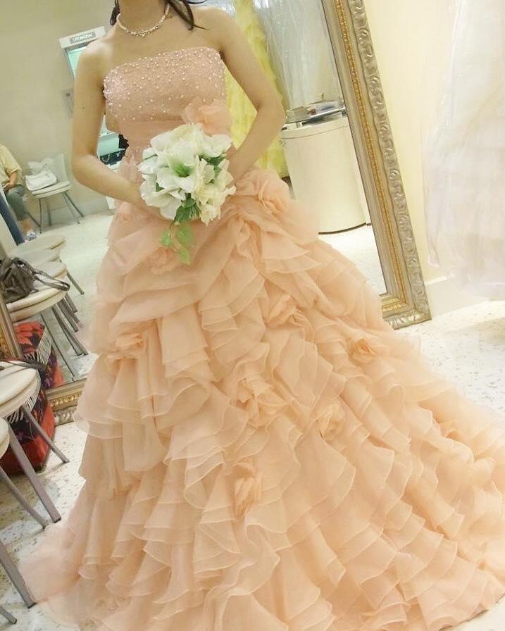 カラードレス6ピンク