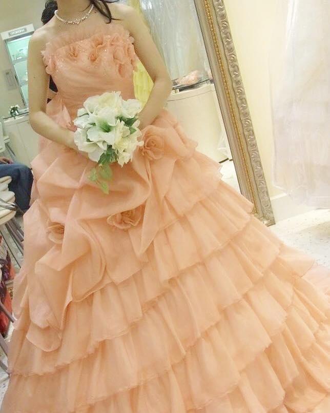 カラードレス7ピンク