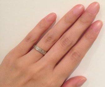 カルティエ_結婚指輪