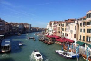 ヴェネチア 新婚旅行