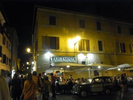ローマ ハネムーン レストラン