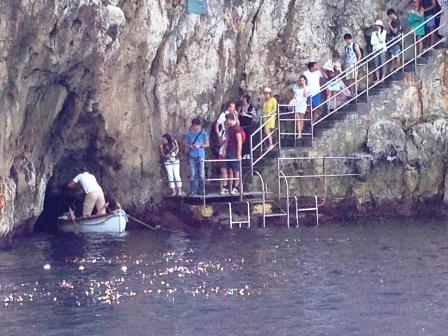 青の洞窟 ハネムーン