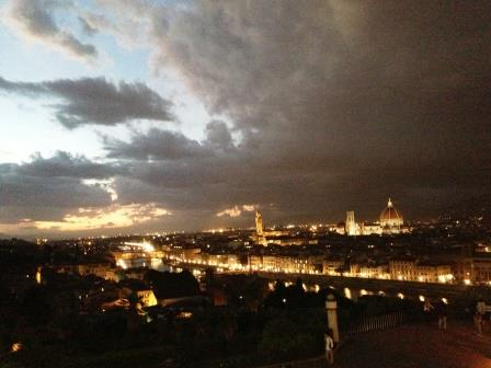 フィレンツェ 夜景
