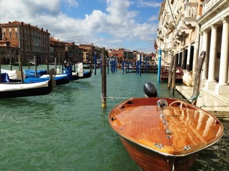 ベネチア 新婚旅行