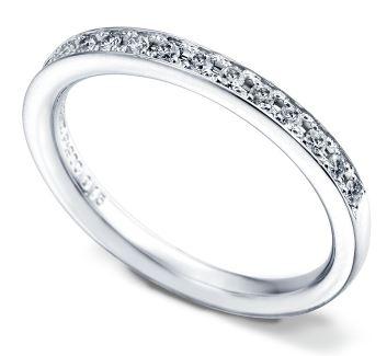 結婚指輪 ハーフエタニティ