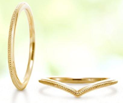 結婚指輪 華奢