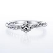 婚約指輪 パヴェ