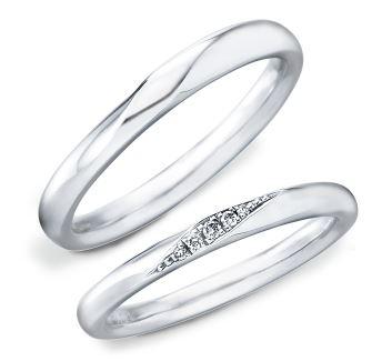 結婚指輪 ストレート